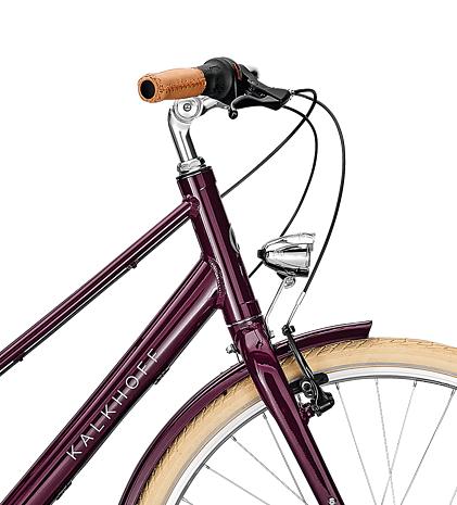 Велосипед Kalkhoff Scent Glare 2018 Marsalared