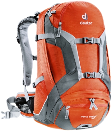 Рюкзак Deuter 2015 Bike Trans Alpine 30 papaya-granite