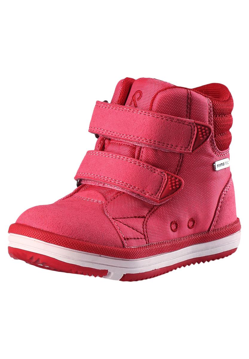 Ботинки городские (высокие) Reima 2017 Patter RASPBERRY RED, Обувь для города, 1325594  - купить со скидкой