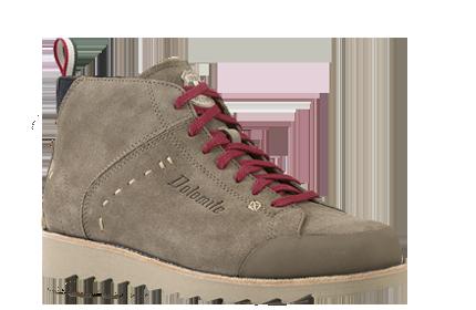 Ботинки городские (высокие) Dolomite 2016 CINQUANTAQUATTRO TRAVEL MID GREY, Обувь для города, 1199635  - купить со скидкой
