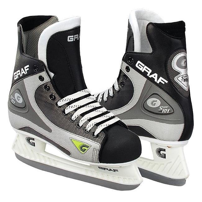 38f3e0ab6673 Коньки хоккейные GRAF Super 101 - купить в КАНТе