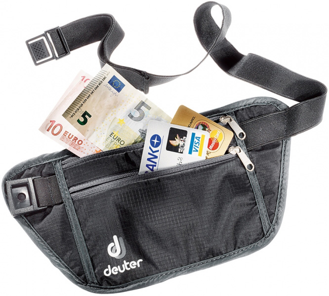 Кошелек Deuter 2015 Accessories Security Money Belt S Black-Granite от КАНТ