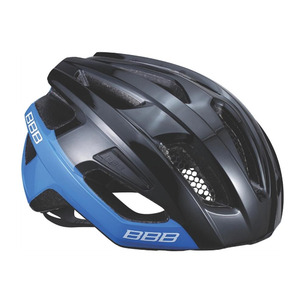 Купить Велошлем BBB 2018 Kite черный блестящий/синий, Шлемы велосипедные, 1298114