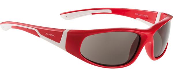 Купить Очки солнцезащитные Alpina JUNIOR / KIDS Flexxy Junior red-white/black S3, солнцезащитные, 1131859