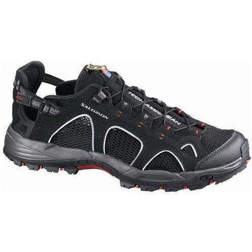 мужские сандалии salomon, черные