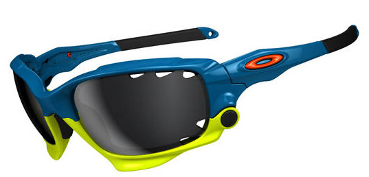 Очки солнцезащитные Oakley Racing Jacket Fathom Pacific Blue w/Black Iridium Vented&Clear Vented