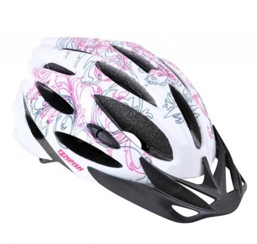 Купить Летний шлем TEMPISH STYLE pink, Шлемы велосипедные, 1254544