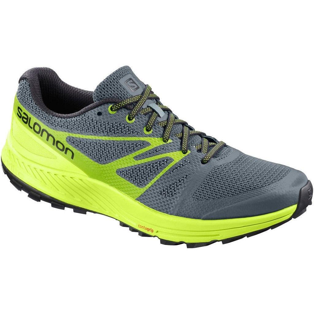 Купить Беговые кроссовки для XC SALOMON 2018 SENSE ESCAPE Stormy Weather/Acid Lime/Lime Green, Кроссовки бега, 1384343