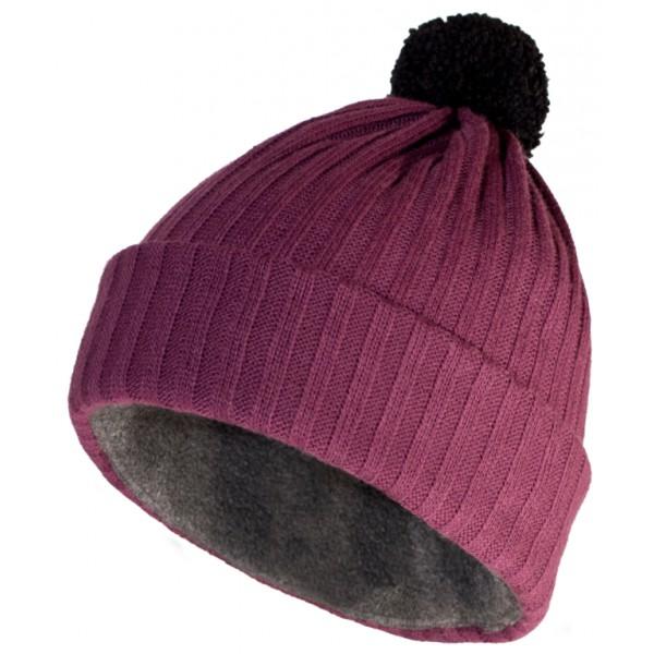 Зимний Шлем Helt-Pro 2012-13 Pompom Rib Lila Purple Rib
