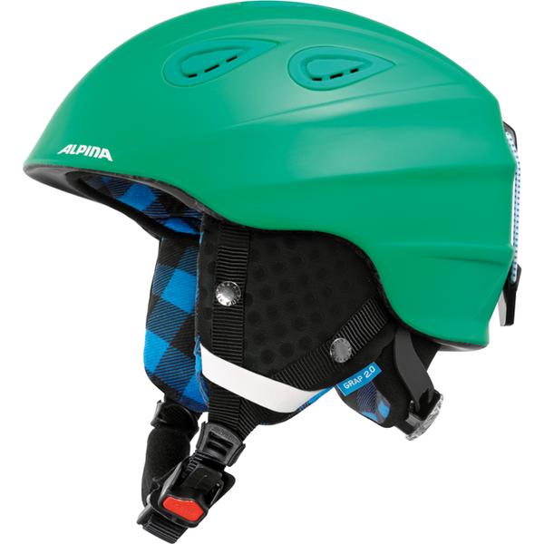 Зимний Шлем Alpina Grap 2.0 Cold-Green Matt
