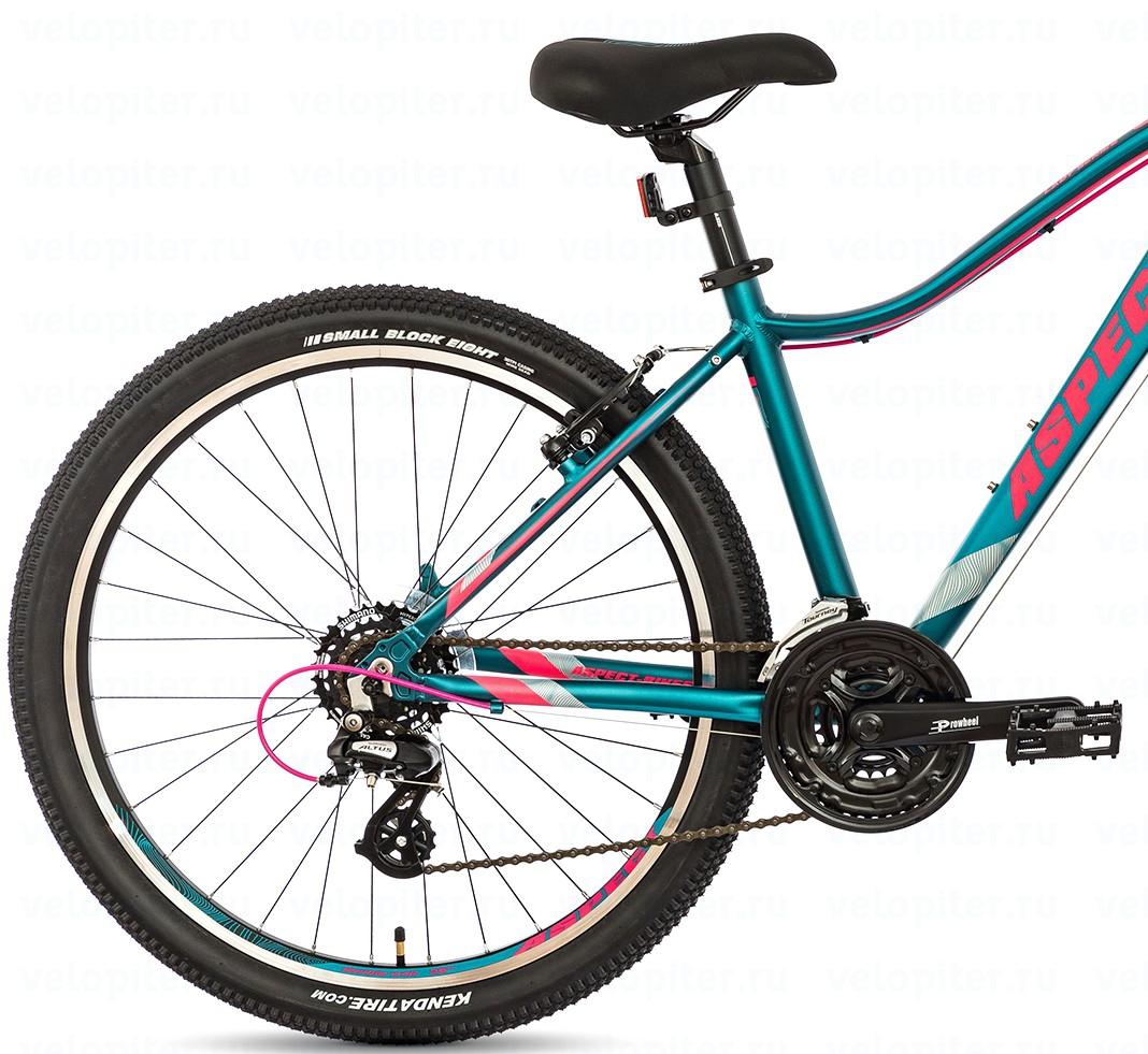 Велосипед Aspect Oasis 2018 Зелено-Розовый