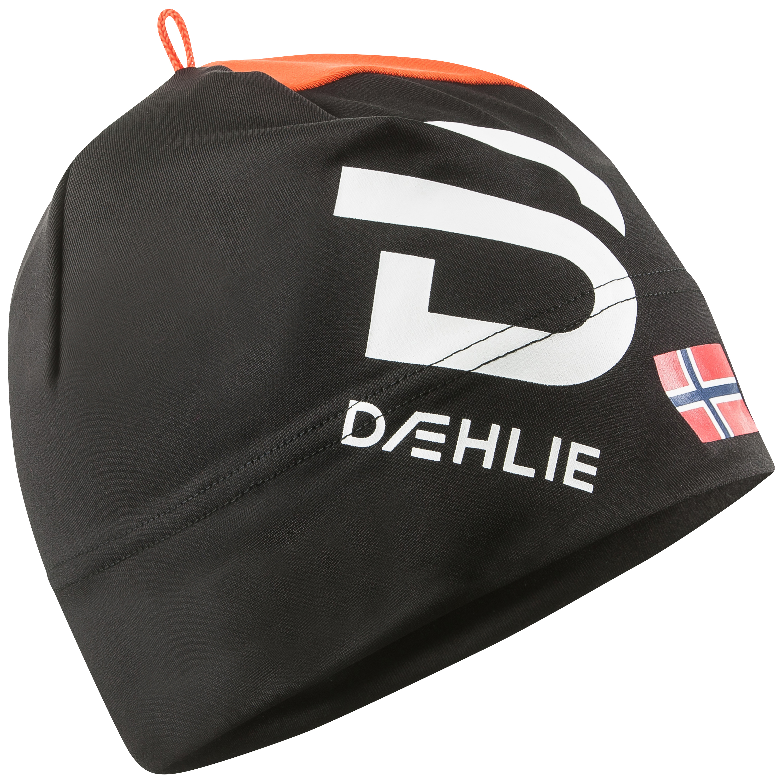 женская шапка bjorn daehlie, черная