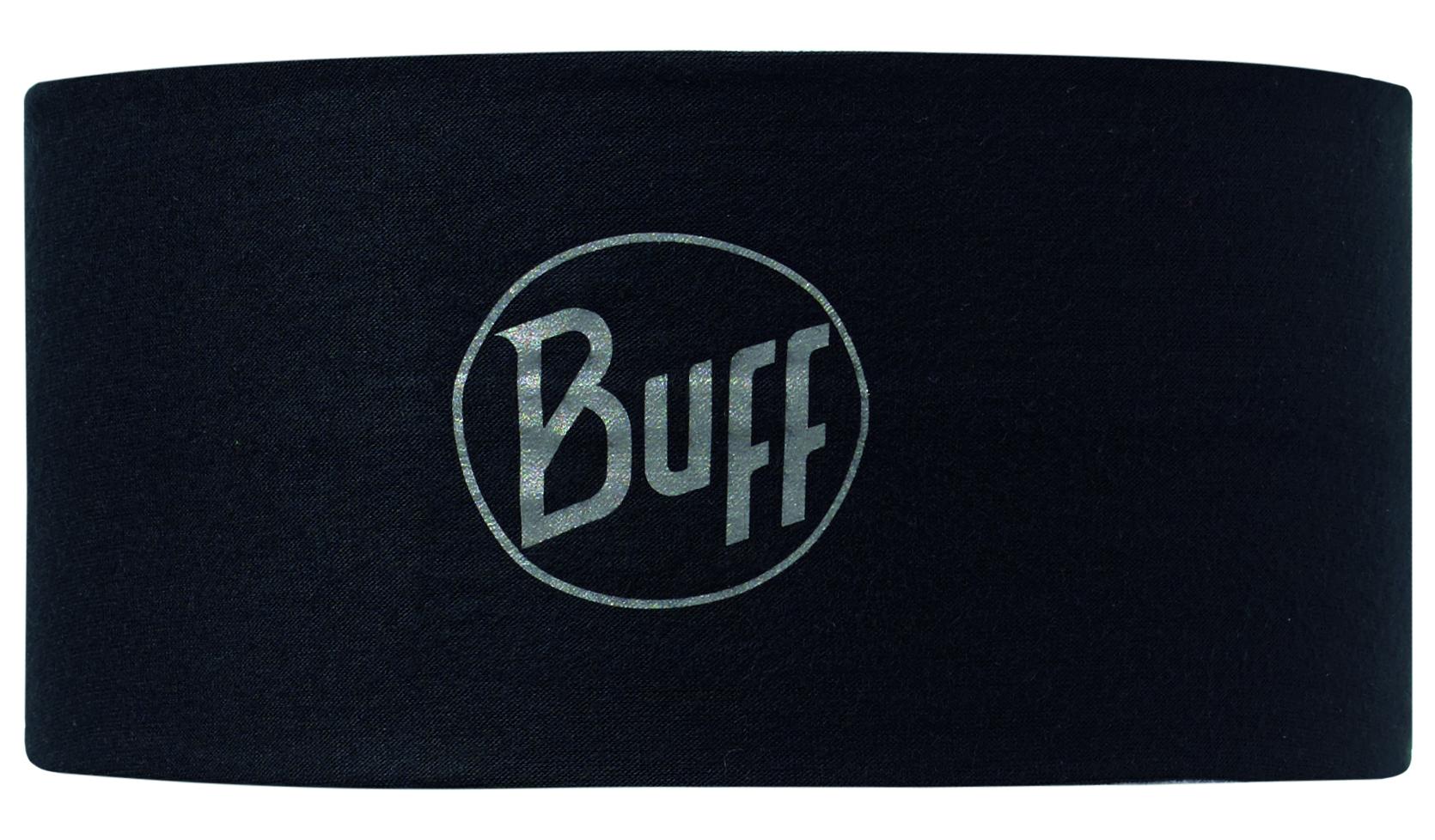 Купить Повязка BUFF HEADBAND R-SOLID BLACK Банданы и шарфы Buff ® 1149591