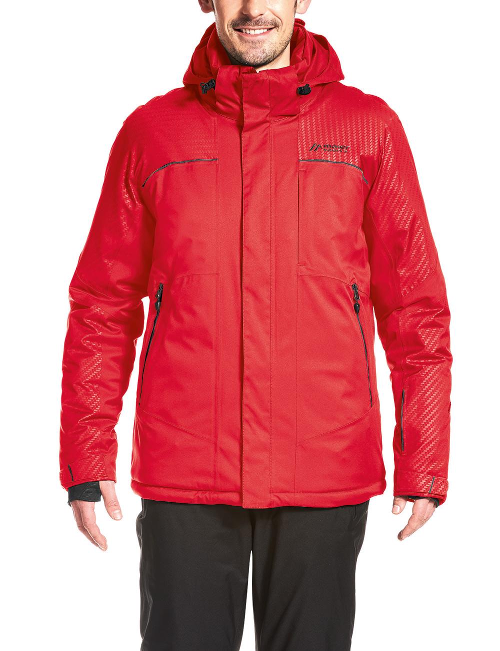 Купить Куртка горнолыжная MAIER 2017-18 Stalden M chinese red Одежда 1346877