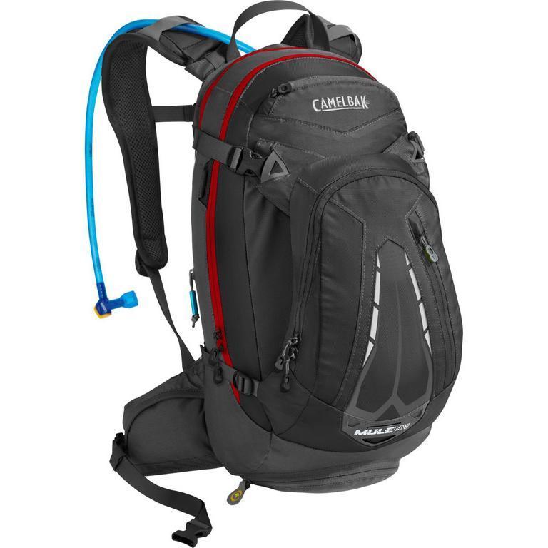 Рюкзак CamelBak M.U.L.E. NV 12L Black/Charcoal Рюкзаки туристические 1146622  - купить со скидкой