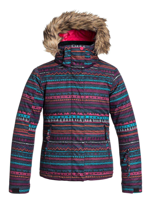 Купить Куртка сноубордическая ROXY 2015-16 JET SKI GIRL JK G SNJT GEO STRIPE Одежда 1215628