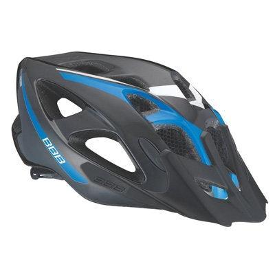 Летний Шлем Bbb Elbrus With Visor Matt Black/blue