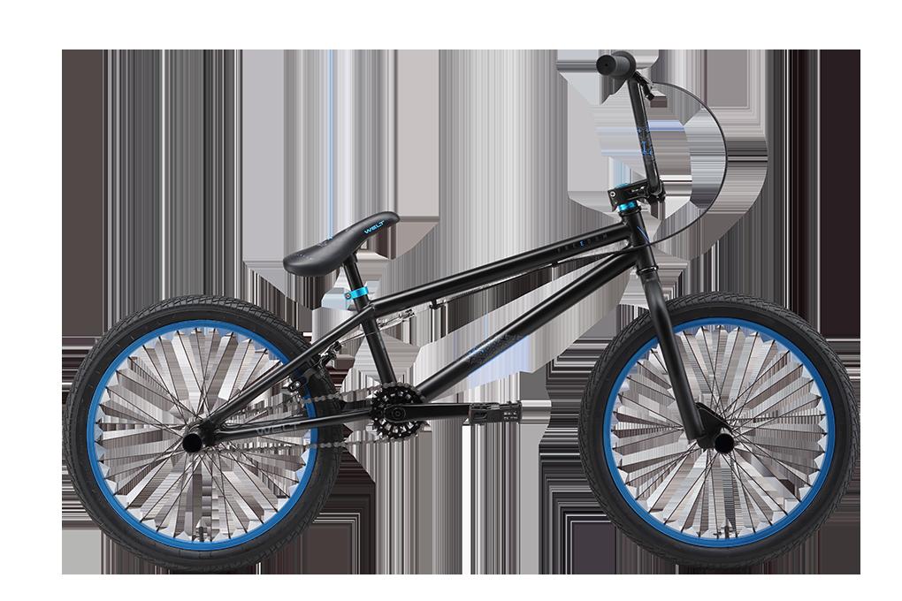 Велосипед Welt 2018 Bmx Freedom Matt Black/blue