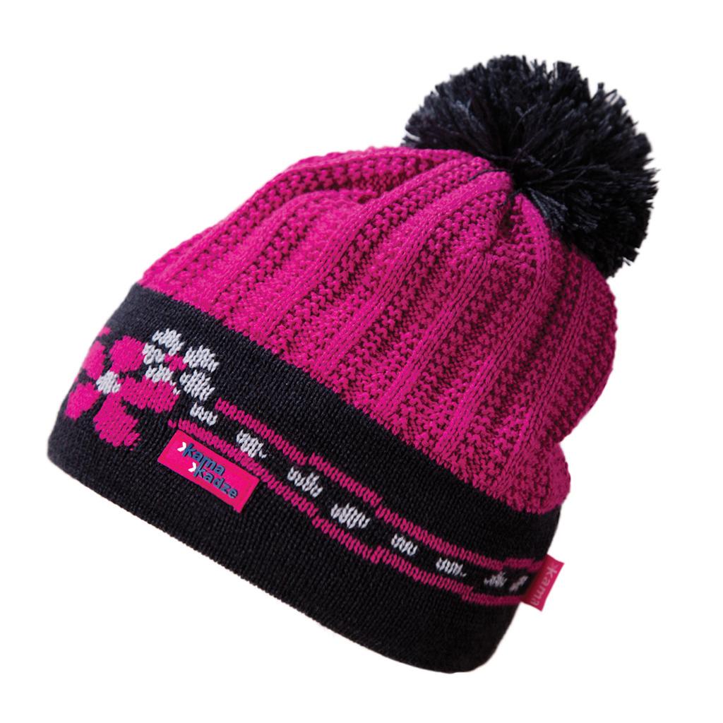 Купить Шапка Kama 2017-18 K54 pink Головные уборы, шарфы 1267653