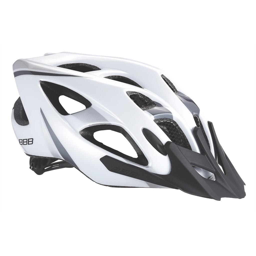 Летний Шлем Bbb 2015 Helmet Elbrus With Visor Matt White