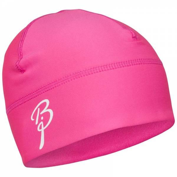 женская шапка bjorn daehlie, розовая