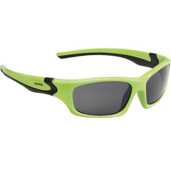 Купить Очки солнцезащитные Alpina JUNIOR / KIDS Flexxy Teen green-black/black S3, солнцезащитные, 1131854