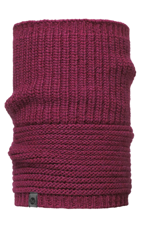 Шарф Buff Knitted Collar Buff Gribling Red Plum