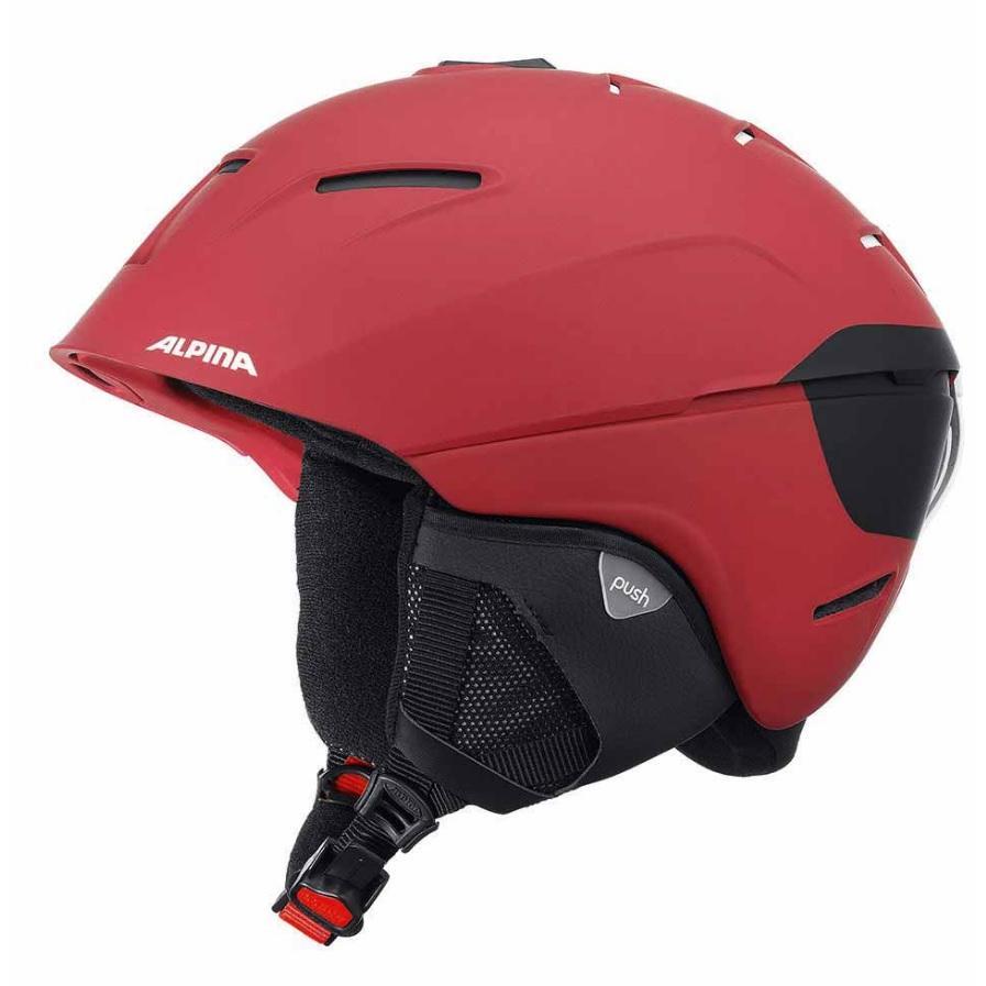 Зимний Шлем Alpina Cheos Deep-Red Matt