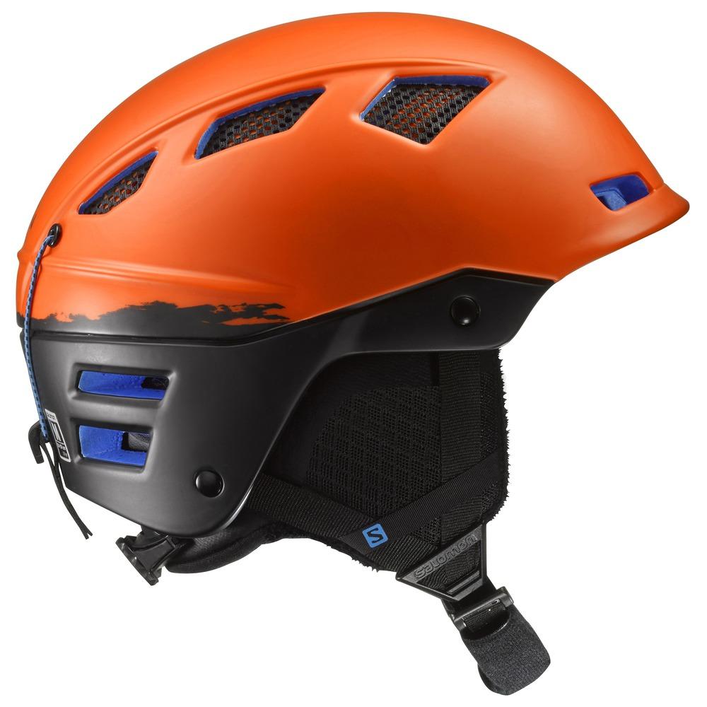 Купить Зимний Шлем SALOMON 2016-17 HELMET MTN CHARGE Orange/BLACK, Шлемы для горных лыж/сноубордов, 1305155