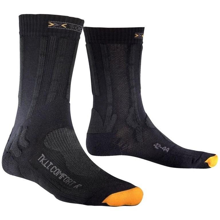 Купить Носки X-Bionic 2016-17 X-Socks Trekking Light & Comfort G078 / Серый, унисекс