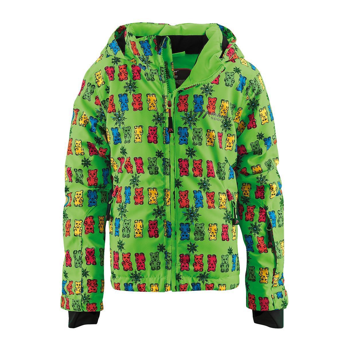 куртка maier для девочки, зеленая