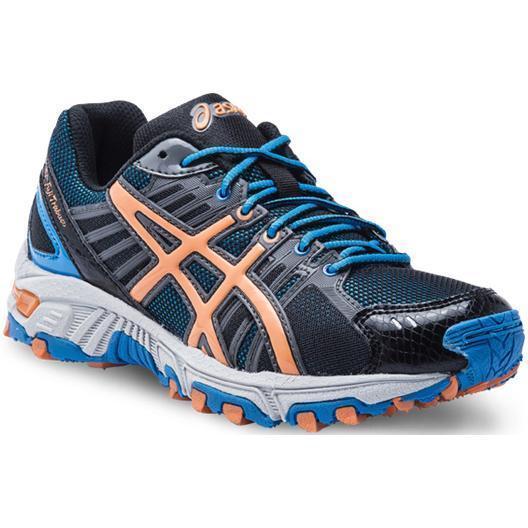 Купить Беговые кроссовки стандарт Asics 2013 GEL-FUJI TRABUCO GS Голубой/Оранжевый/Чёрный Кроссовки для бега 903647