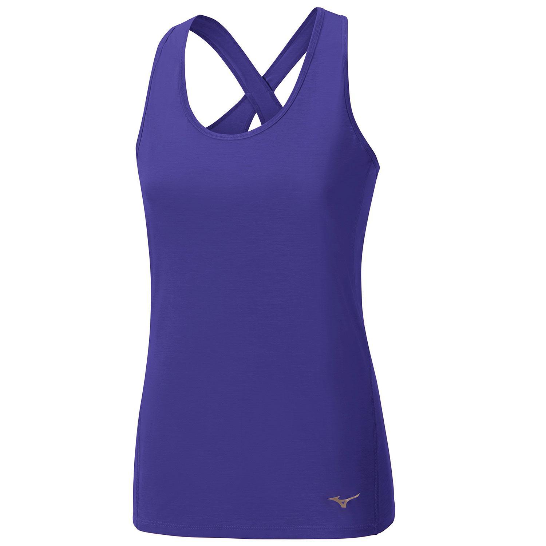 Купить Майка беговая Mizuno 2017 Active Tank фиолет Одежда для бега и фитнеса 1334692