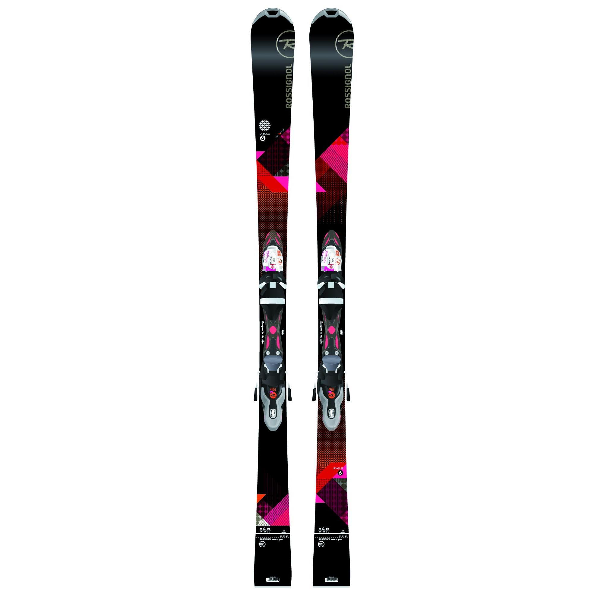 Горные лыжи с креплениями ROSSIGNOL 2015-16 UNIQUE 6/XEL SAPH 110 B83 (RAEIC01+RCED056) 1217164  - купить со скидкой