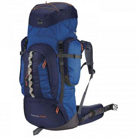 Купить Рюкзак Salewa Hiking Cammino 70+10 enzianblue/anthracite Рюкзаки туристические 1073857