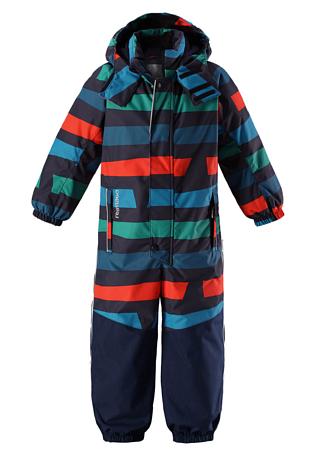 Купить Комбинезон горнолыжный Reima 2017-18 Otsamo Navy Детская одежда 1351654