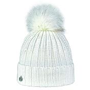 ШапкаГоловные уборы<br>Зимняя женская шапка с помпоном из эко меха. Эта мягкая шапка защитит вас в холодную погоду.<br><br>Материал: 100% акрил