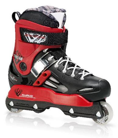 Купить Роликовые коньки Rollerblade 2011 SOLO TRIBE HD черный/красный Ролики детские 744967