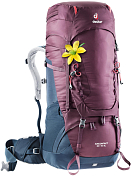 Рюкзак Deuter 2020-21 Aircontact 50+10 SL Blackberry/Navy