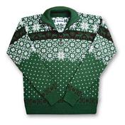 Свитер для активного отдыхаОдежда для активного отдыха<br>Шерстяной свитер на молнии 3/4.<br>Состав: 50% шерсть, 50% акрил.<br>