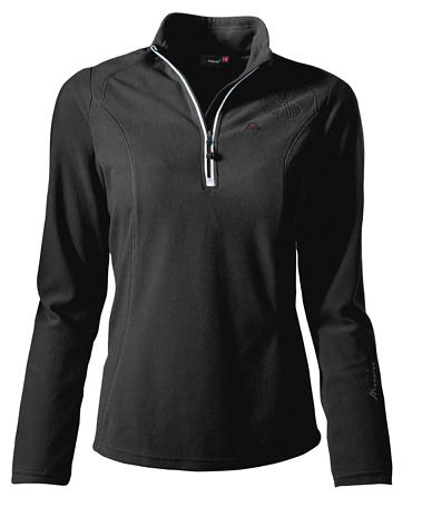 Купить Флис горнолыжный MAIER 2013-14 Midlayer Greta black (чёрный), Одежда горнолыжная, 1026633