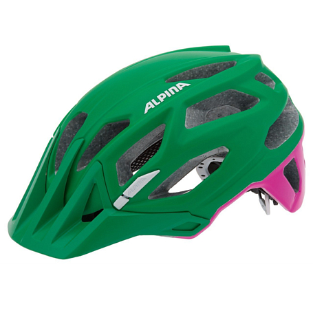 Купить Летний шлем Alpina Enduro Garbanzo green-pink, Шлемы велосипедные, 1179853