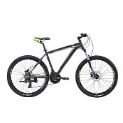 ВелосипедКолеса 26 (стандарт)<br>Велосипед для кросс-кантри<br> <br> <br> Особенности:<br> <br> - дисковая гидравлика Shimano, делает модель в разы безопаснее&amp;nbsp;<br> - модель оснащена подножкой в базе<br> - цельнолитая контрукция вилки, ход 100мм<br> <br> Технические характеристики:<br> <br> Рама: Alloy 6061&amp;nbsp;<br> Размер рамы: 16,18,20<br> Диаметр колес: 26<br> Кол-во скоростей: 21<br> Тип вилки: амортизационная<br> Вилка: Suntour XCT HLO 100mm&amp;nbsp;<br> Переключатель задний : Shimano TY-300<br> Переключатель передний: Shimano TZ-30<br> Шифтеры: Shimano Altus 3x7 скоростей&amp;nbsp;<br> Тип тормозов: дисковые гидравлические<br> Тормоза: Shimano M-315<br> Система: &amp;nbsp;Prowheel alloy 42/34/24&amp;nbsp;<br> Кассета: Shimano HG20 12-28T<br> Тип рулевой колонки: &amp;nbsp;1-1/8 безрезьбовая<br> Покрышки: Compass 26 x 2,1<br> <br> Рекомендуемые аксессуары:<br>