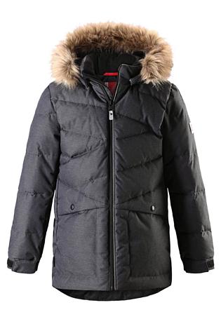 Купить Куртка горнолыжная Reima 2017-18 Jussi Dark melange grey, Детская одежда, 1351733