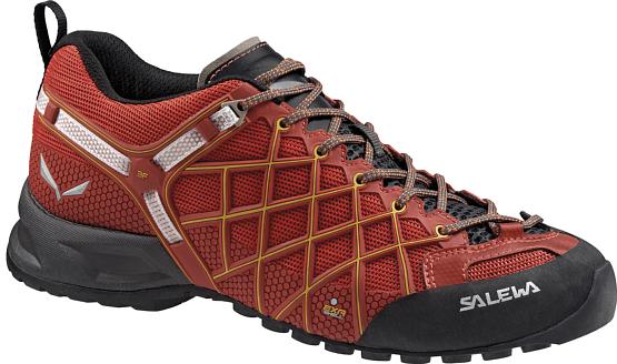 Купить Ботинки для треккинга (низкие) Salewa 2017 MS WILDFIRE S GTX Indio/Nugget Gold, Треккинговая обувь, 1205655
