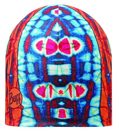 Купить Шапка BUFF MICROFIBER REVERSIBLE NEON SIDES ORANGE - BLUE Банданы и шарфы Buff ® 1169219