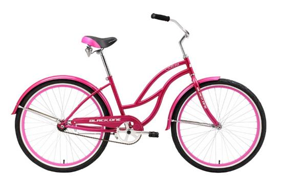 Купить Велосипед Black One Flora 2016 розово-белый Для города 1258984