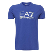 Футболка Для Активного Отдыха Ea7 Emporio Armani 2016 Man's Knit Jersey Blu Ink
