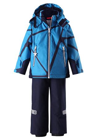 Купить Комплект горнолыжный Reima 2017-18 Grane Blue Детская одежда 1351678