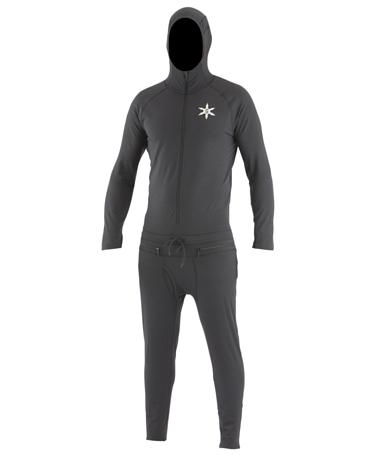 Купить Комбинезон сноубордический AIRBLASTER 2015-16 CLASSIC NINJA SUIT BLACK, Одежда сноубордическая, 1216867